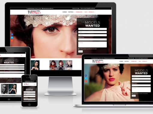 Nofuentes Models – Web Corporativa/Blog