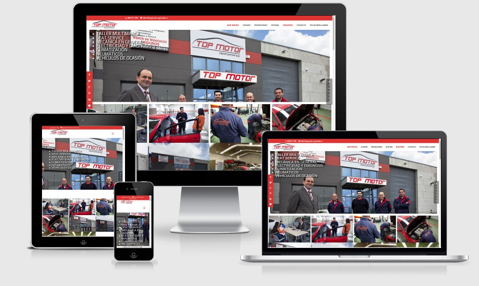 Top Motor Seat Granada-Web Corporativa